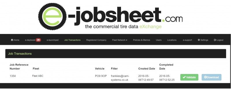e-jobsheet talks to Bridgestone Europe's Siebel