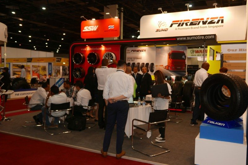 New tyres, wheels from Firenza and SSW at Reifen 2016