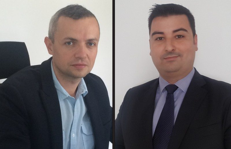 Jan Strban (left) has joined Prinx Chengshan Europe, taking on the position of senior product marketing manager and Adrian Costache has taken on the role of area sales manager