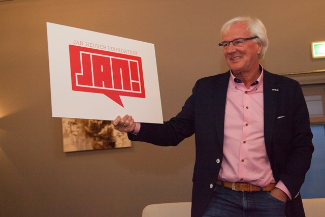 Heuver's retirement was further observed by the establishment of 'Jan!', the Jan Heuver Foundation