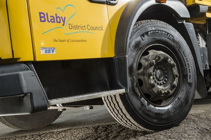 Blaby DC stated that it was impressed with the longevity of a test set of Michelin X Works tyres