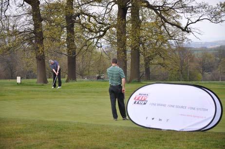 Rema Tip Top UK hosts annual customer golf day at Rudding Park, Harrogate