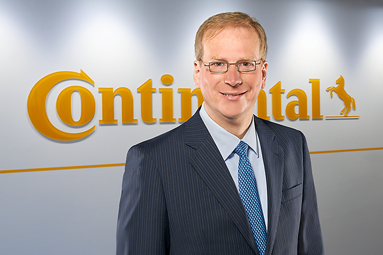 Klaus Kreipe became head of Truck Tires Original Equipment worldwide at Continental Commercial Vehicle Tires in May