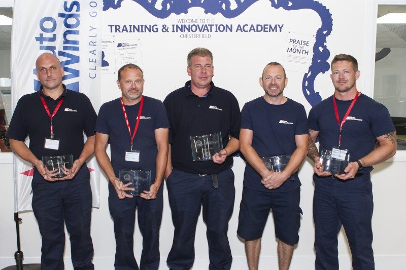 Lloyd Cullen and Steve Abrahams were crowned Auto Windscreens' first ever 'Clearly the Best' 2016 champions