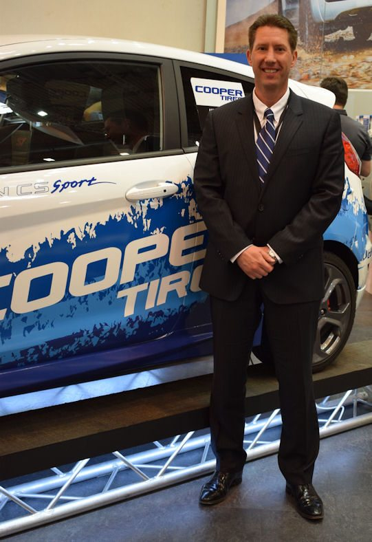 Jeff Schumaker, managing director and vice-president of Cooper Tire Europe