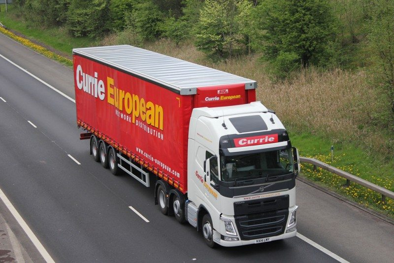 SDC make trailers for a range of well-known customers including Currie European