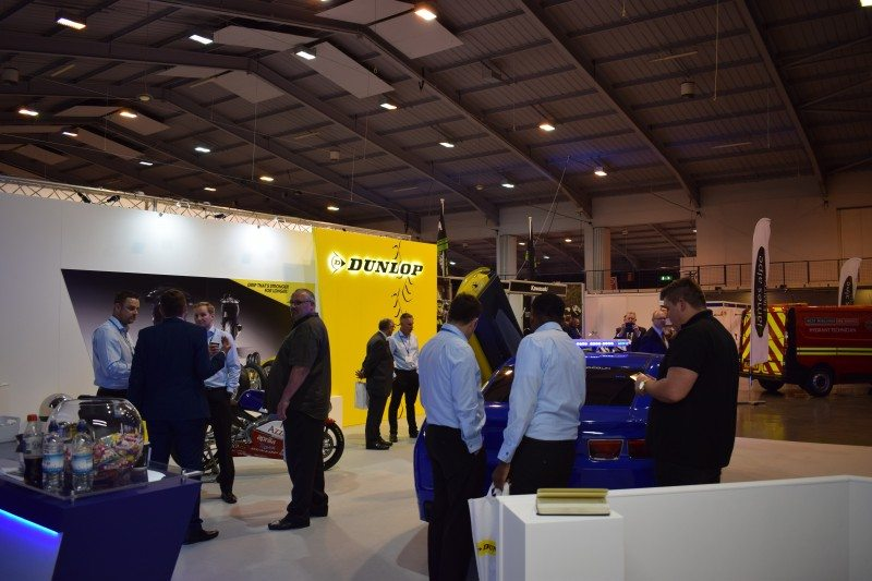 Goodyear reports that it presented the best of both its Goodyear and Dunlop brands at the NAPFM conference