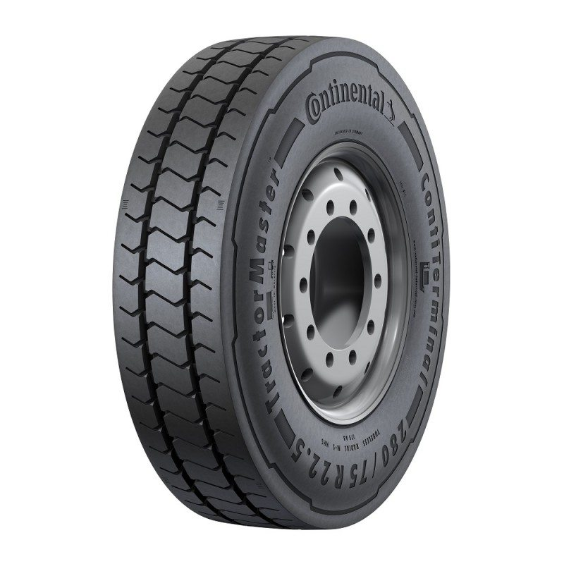 The TractorMaster is now available in 280/75 R 22.5.