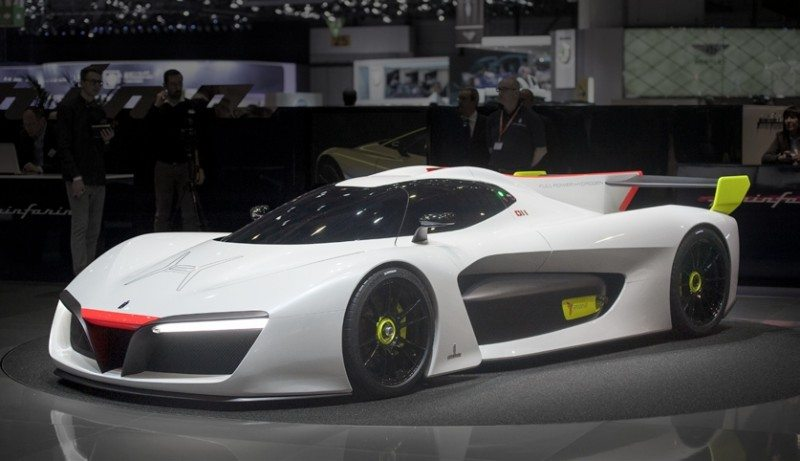 The GreenGT H2 Speed concept car will be the centrepiece of the Michelin Supercar Paddock
