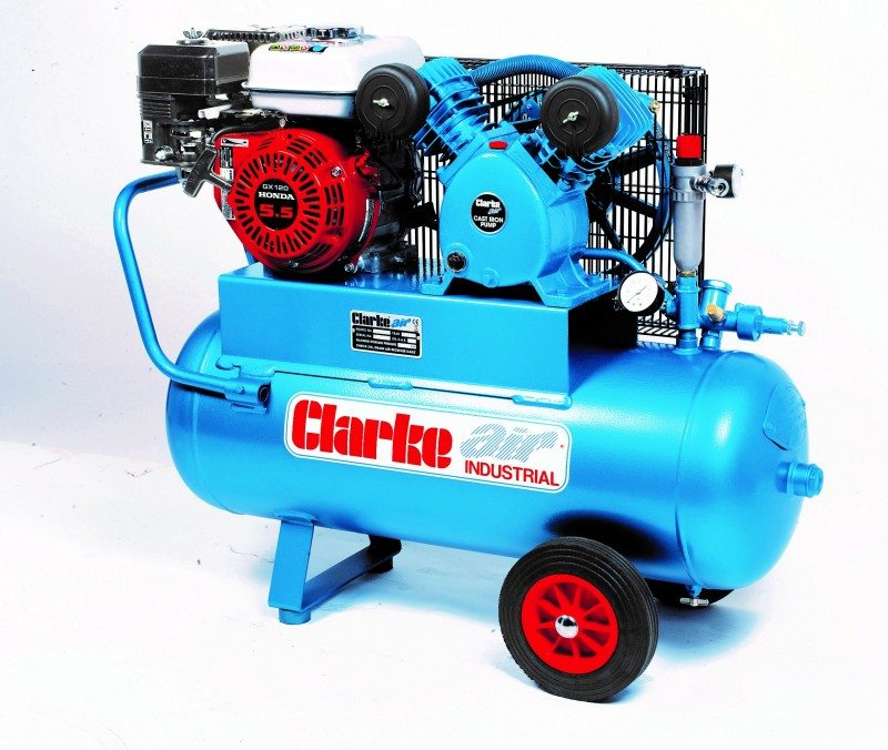 Clarke Industrial's PPV11C50 air compressor