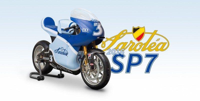 The Saroléa SP7 will run on Bridgestone's Battlax