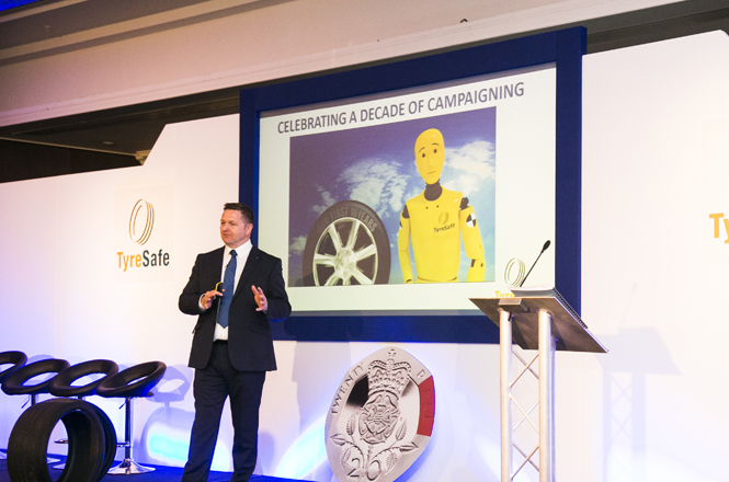 The 10th Tyre Safety Month briefing will be at the Belfry on 14 July