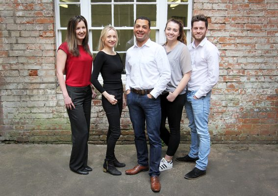 Danielle Gunn (left) joins the Red Marlin team under MD Danny Rughoobeer (centre)
