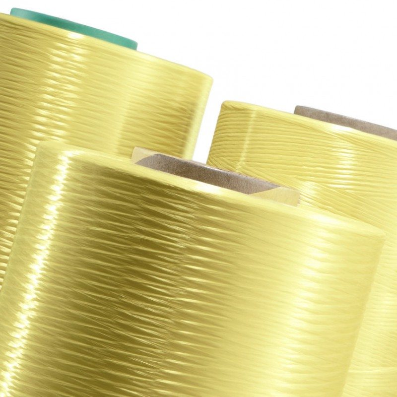 Twaron is produced from a para-aramid that Teijin Aramid makes itself in facilities in Delfzijl and Emmen, the Netherlands using raw materials sourced from the oil industry