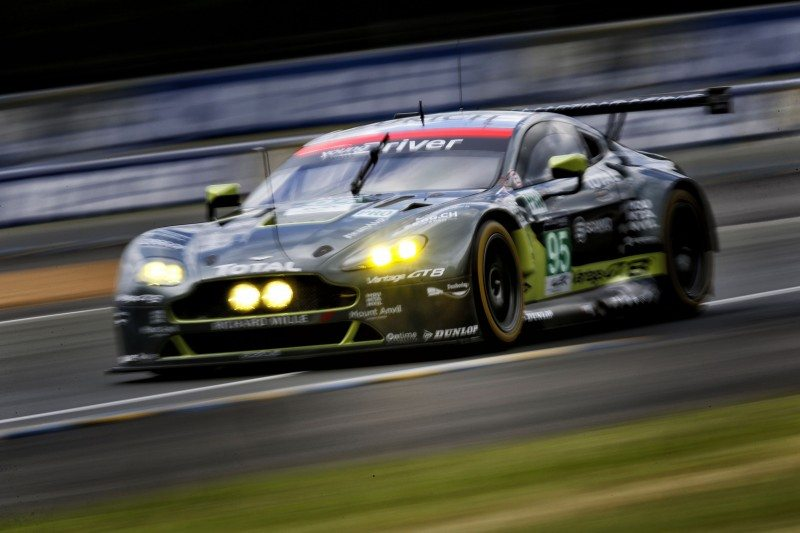 Dunlop supported Aston Martin Racing's cars in the WEC