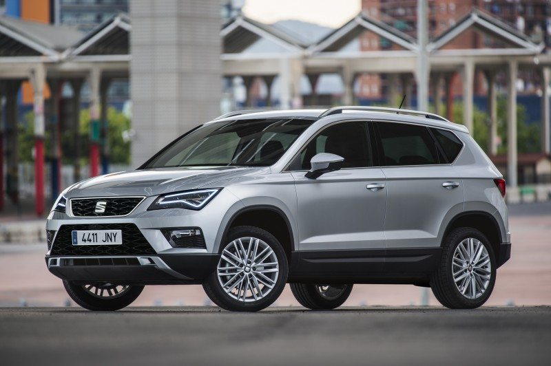 The Seat Ateca, the Spanish brand's first SUV model, will roll out on Falken rubber