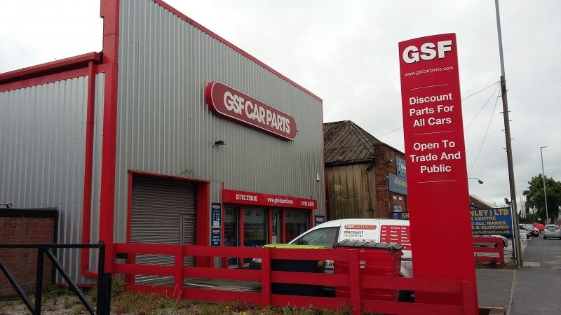 GSF Car Parts Stoke