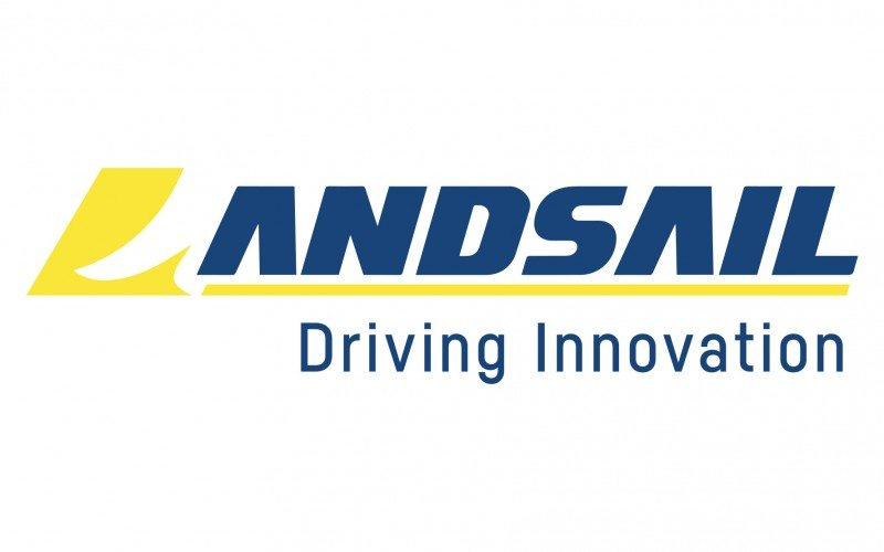 "Landsail's refreshed brand identity includes the new strapline, ""Driving Innovation"""