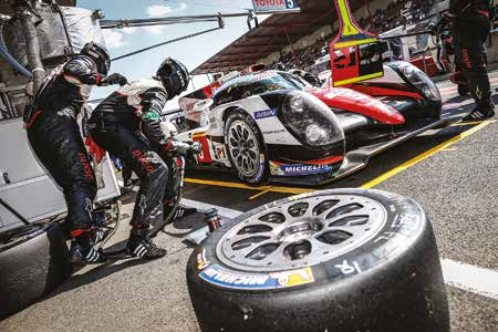 Evolution in Le Mans cars matched by Michelin tyre development programme