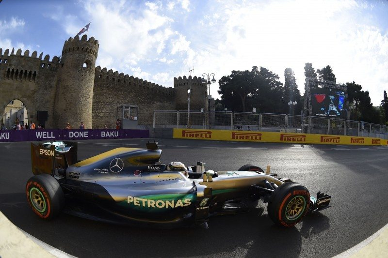 It was plain sailing for Mercedes' Nico Rosberg at Baku, Azerbaijan