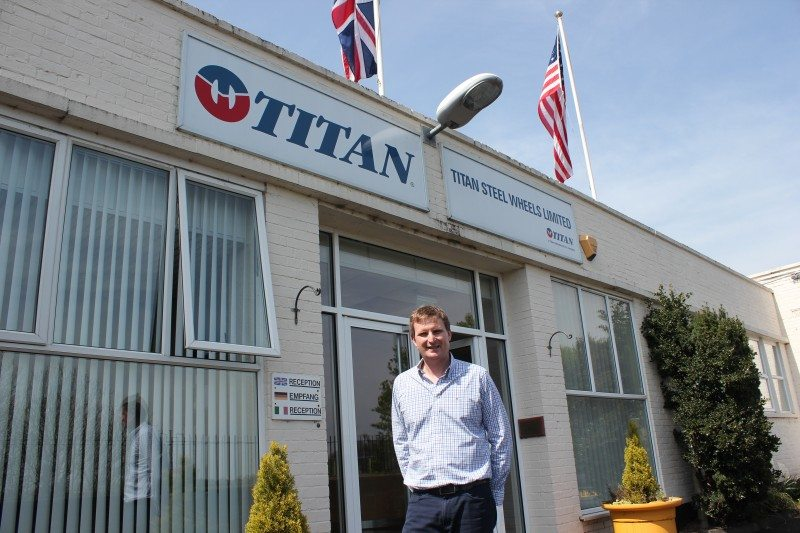 Titan Europe managing director, Chris Akers