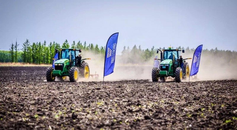 The latest Trelleborg Field Day took place on Hongxing Farm, Heilongjiang, China