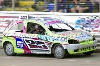 Three in a row for stock car racer Siobhan