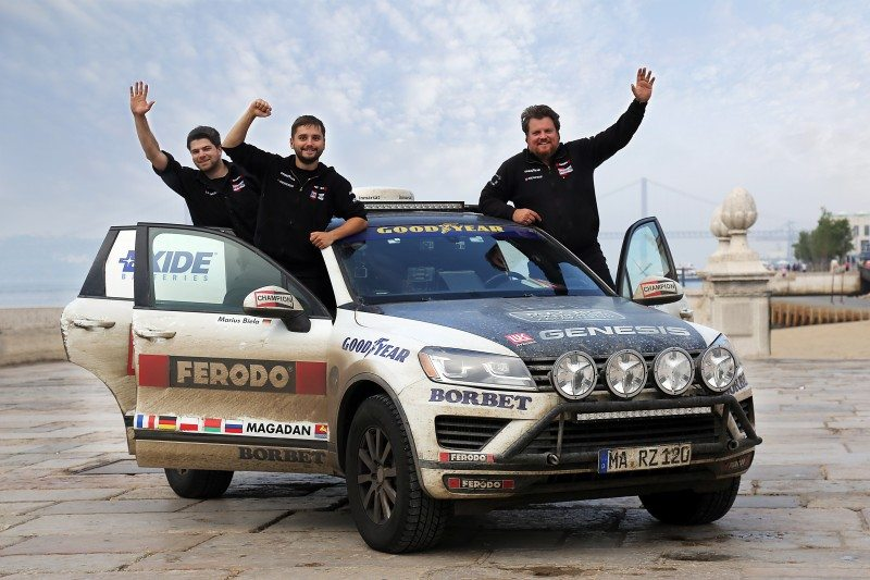 Rainer Zietlow sets trans-Eurasian record on Goodyear Wrangler tyres
