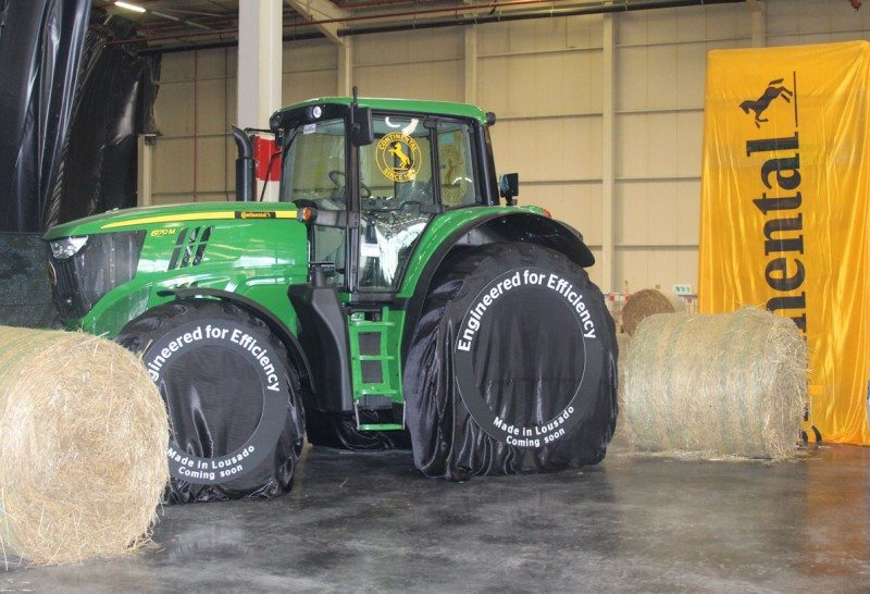 Preparing for re-entry: Continental returns to agri tyres with Project LousAgro