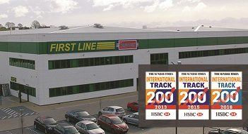 First Line features again on the Sunday Times HSBC International Track 200