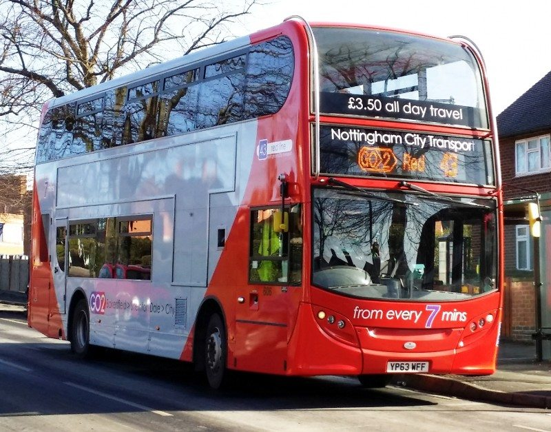 Nottingham City Transport certifies GT Radial city-bus tyre for use