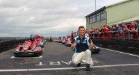 BTCC Champion attends TerraClean Karting Event