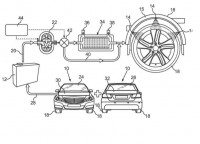 Daimler patent – enhancing tyre grip with water?