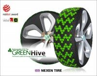 Further award for Nexen's tread-replenishing experimental tyre