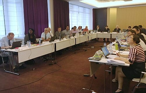 The meeting in Brussels was attended by 24 experts