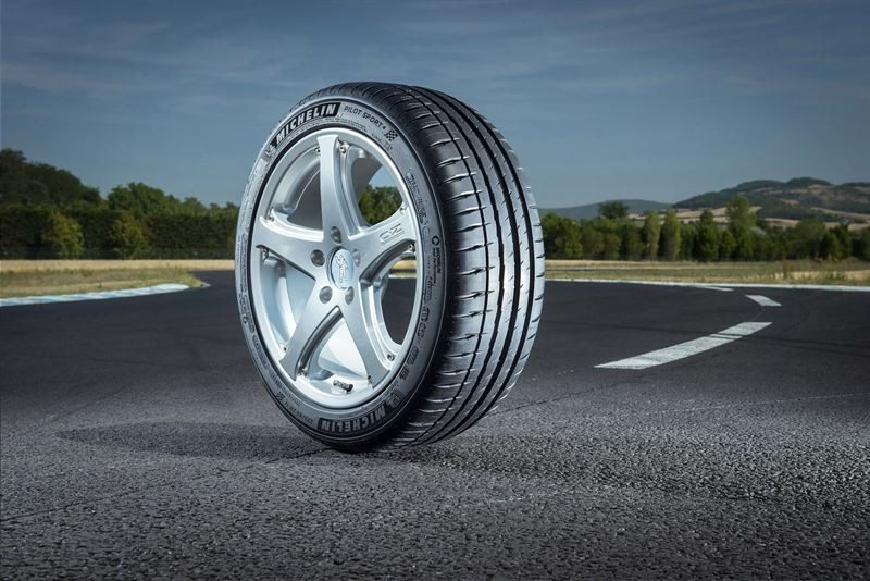 The Pilot Sport 4 was one of five Michelin tyre ranges tested by the DEKRA Automobile Test Centre