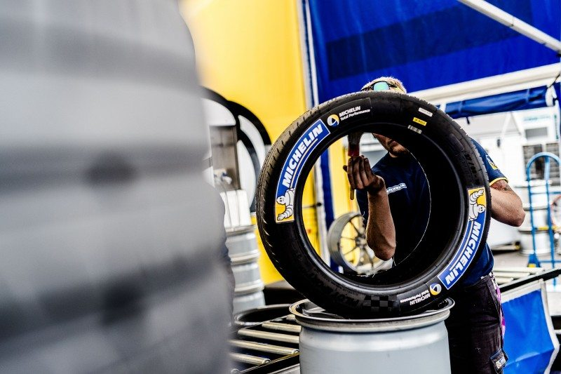 Michelin releases details of new Formula E tyre
