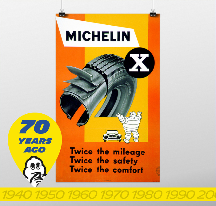 "Superior mileage, durability and safety – Michelin isn't exaggerating when it calls the radial a ""revolution"""