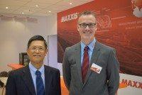 Cheng Shin chairman talks Maxxis globalisation strategies on Reifen stand