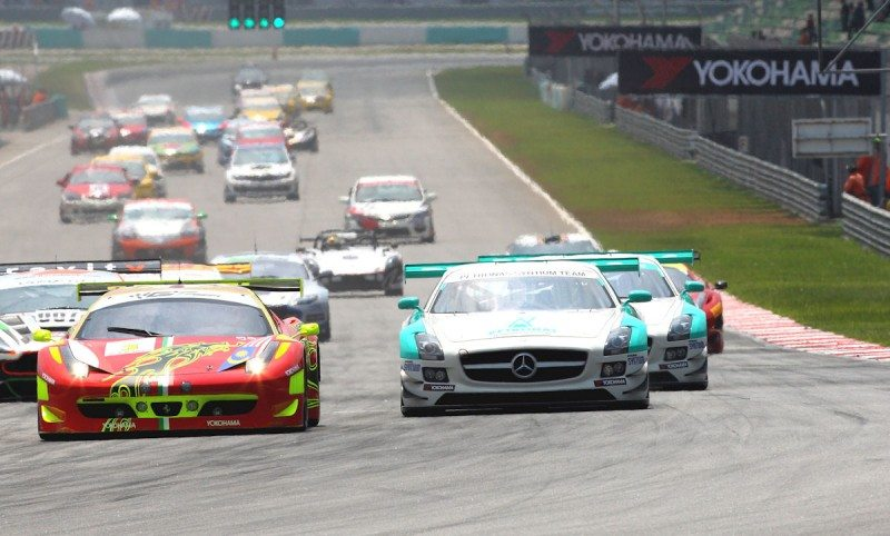 Starting this year, all Sepang 12 Hours drivers will race on Yokohama Advan tyres