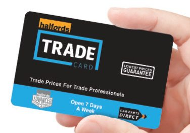 Halfords relaunches trade card