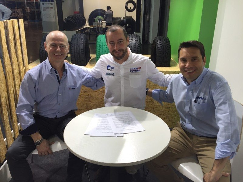 Vipal and Grupo Soledad member Mezcla Caucho sign a joint venture agreement at Reifen 2016 to found the first Vipal retreading products line outside Brazil in Aspe, Spain
