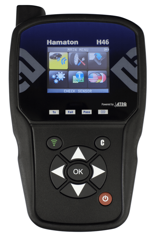 "The Hamaton H46 is pitched as ""a robust, upgradable TPMS diagnostic tool"""