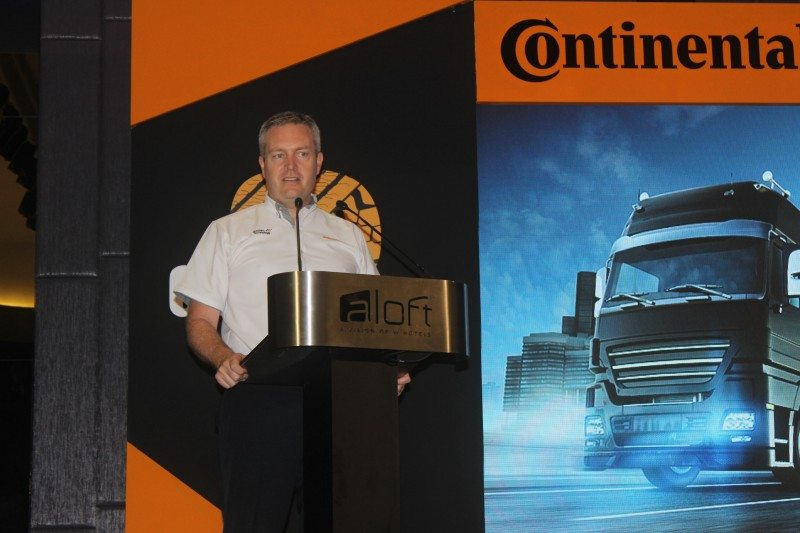 Officiating the Generation 3 launch event at Alof Kuala Lumpur Sentral was Cameron Wilson, managing director of CTM and Patrick Haarmann, Head of Business Region Asia Pacific Truck Tires, Business Unit CVT.