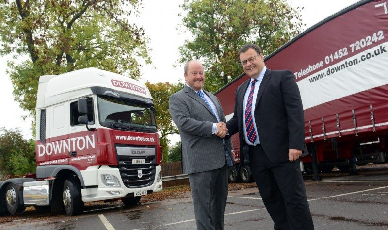 Gloucester logistics firm extends Bridgestone contract