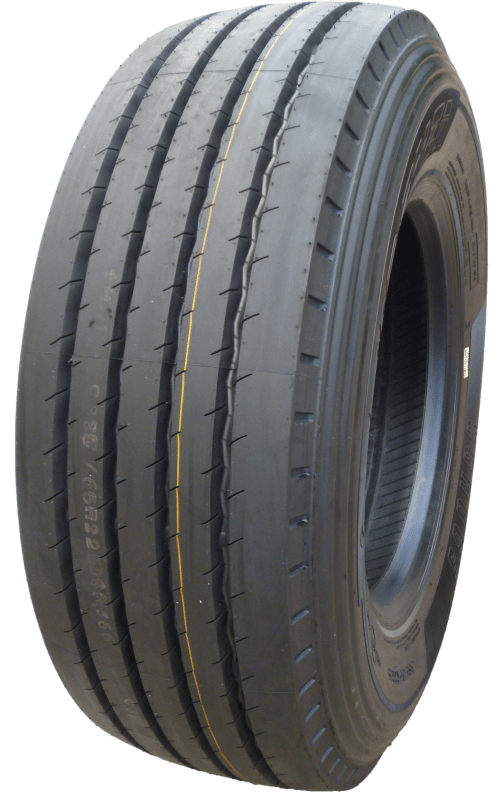 The Firenza SSR05A Steer pattern additionally includes a flatter and wider tread profile for increased mileage.