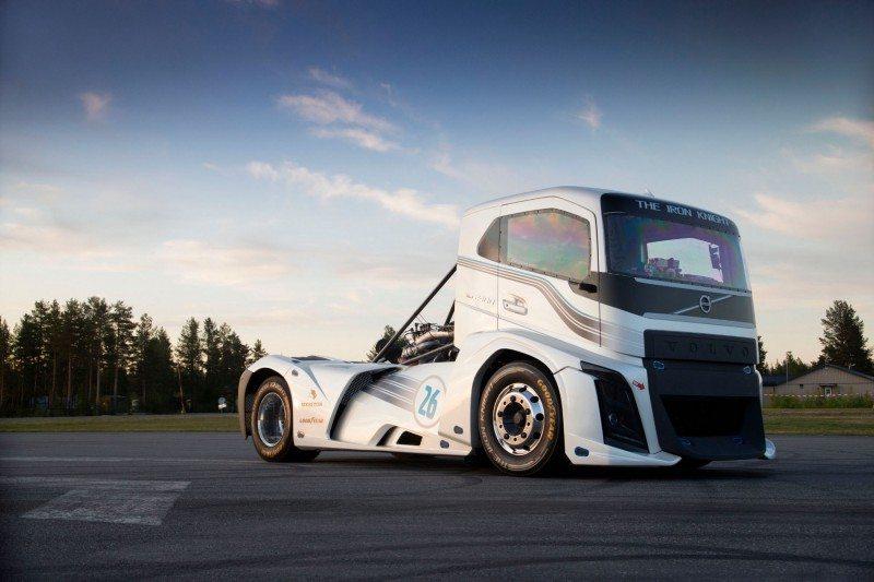 Volvo Trucks vehicle 'The Iron Knight'