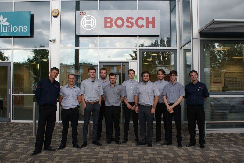 Bosch's first automotive apprentices graduate