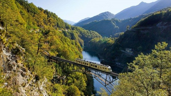 A private ride on the Centovalli Railway is planned to entertain guests