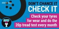 TyreSafe supporters provide expert tyre advice for Stop4T motorists